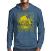 Dolphin riding the waves Mens Hoodie