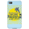 Dolphin riding the waves Phone Case