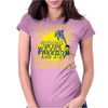 Dolphin riding the waves Womens Fitted T-Shirt