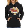 Dom DeLuise Captain Chaos Womens Hoodie