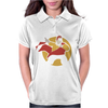 Dom DeLuise Captain Chaos Womens Polo