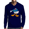 Donald Duck Funny Mens Hoodie