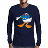 Donald Duck Funny Mens Long Sleeve T-Shirt