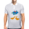 Donald Duck Funny Mens Polo