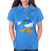 Donald Duck Funny Womens Polo
