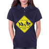 Donald Trump Border Crossing For President Womens Polo