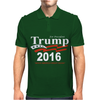 Donald Trump for President 2016 Navy USA Mens Polo
