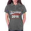 Donald Trump for President 2016 Navy USA Womens Polo
