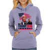 Donald Trump For President 2016 Womens Hoodie