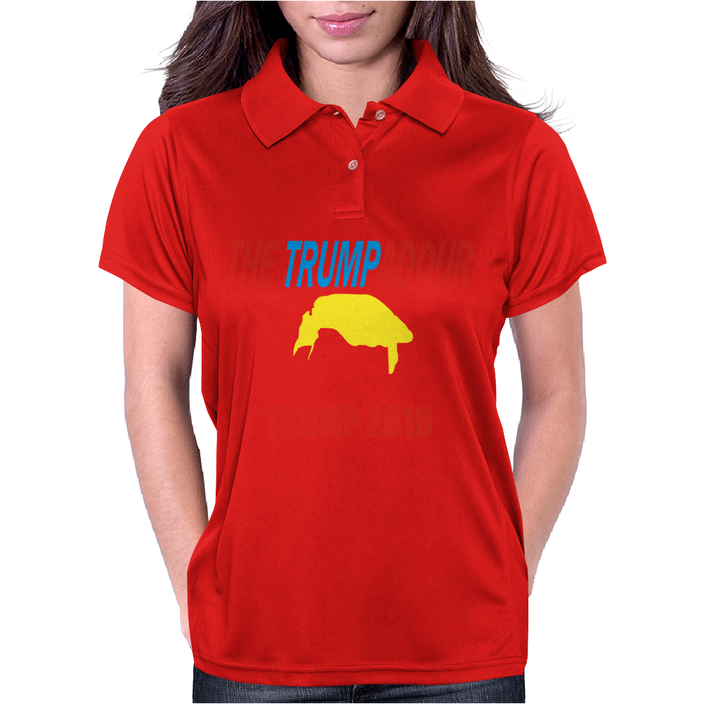 Donald Trump Large Womens Polo
