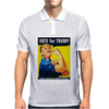 Donald Trump Rosie The Riveter 2016 Build A Wall Mens Polo