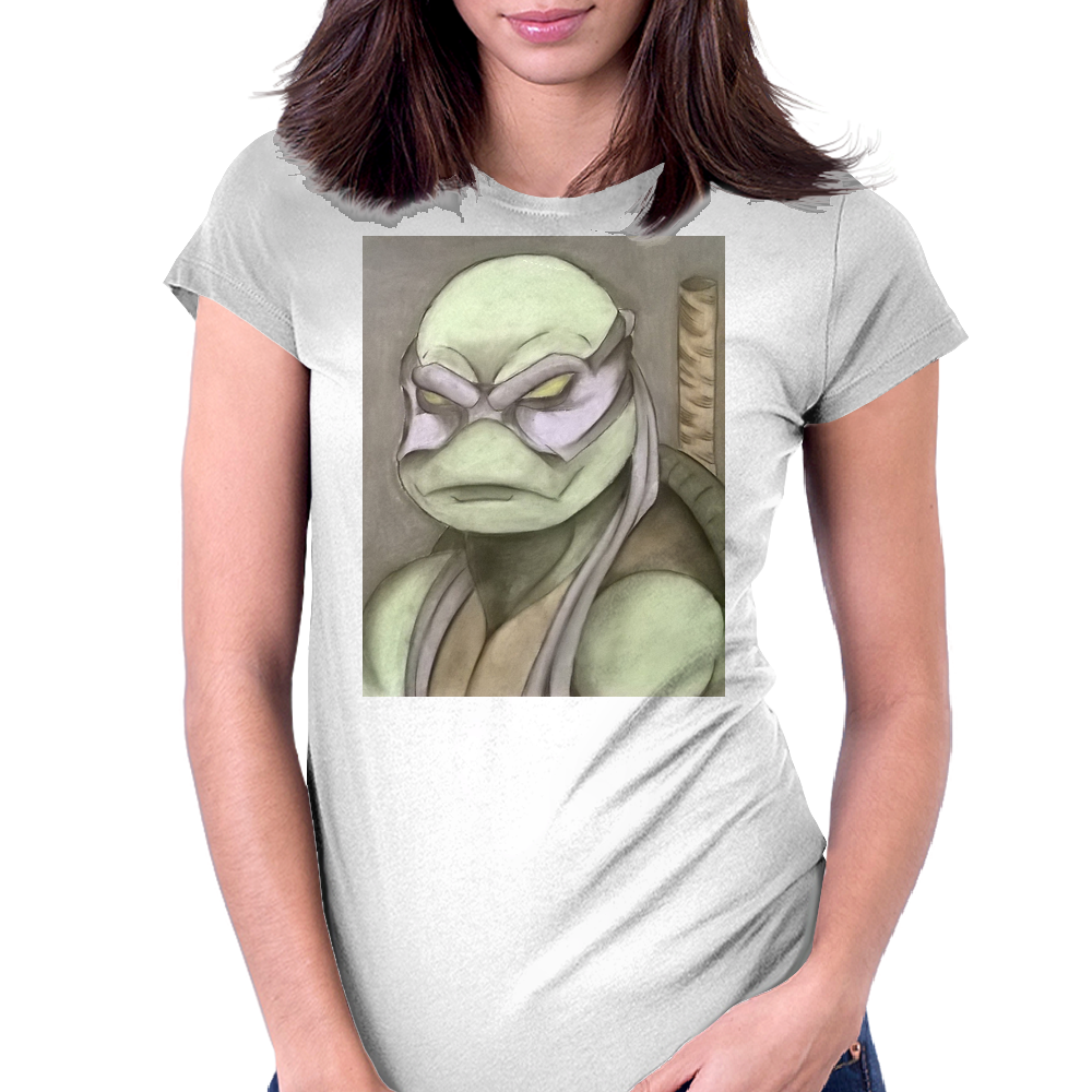 Donatello Womens Fitted T-Shirt
