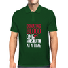 Donating Blood One Mosquito Funny Mens Polo