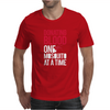Donating Blood One Mosquito Funny Mens T-Shirt