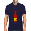 Donkey Kong Tie Video Game Retro Mens Polo