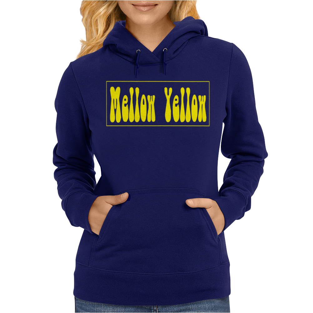 Donovan Mellow Yellow The Sixties Hippies Womens Hoodie
