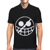 Donquixote Doflamingo One Piece Flag Jolly Roger Manga Anime Tee Mens Polo