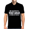 Don't Ask Me Why I'm Vegetarian Mens Polo
