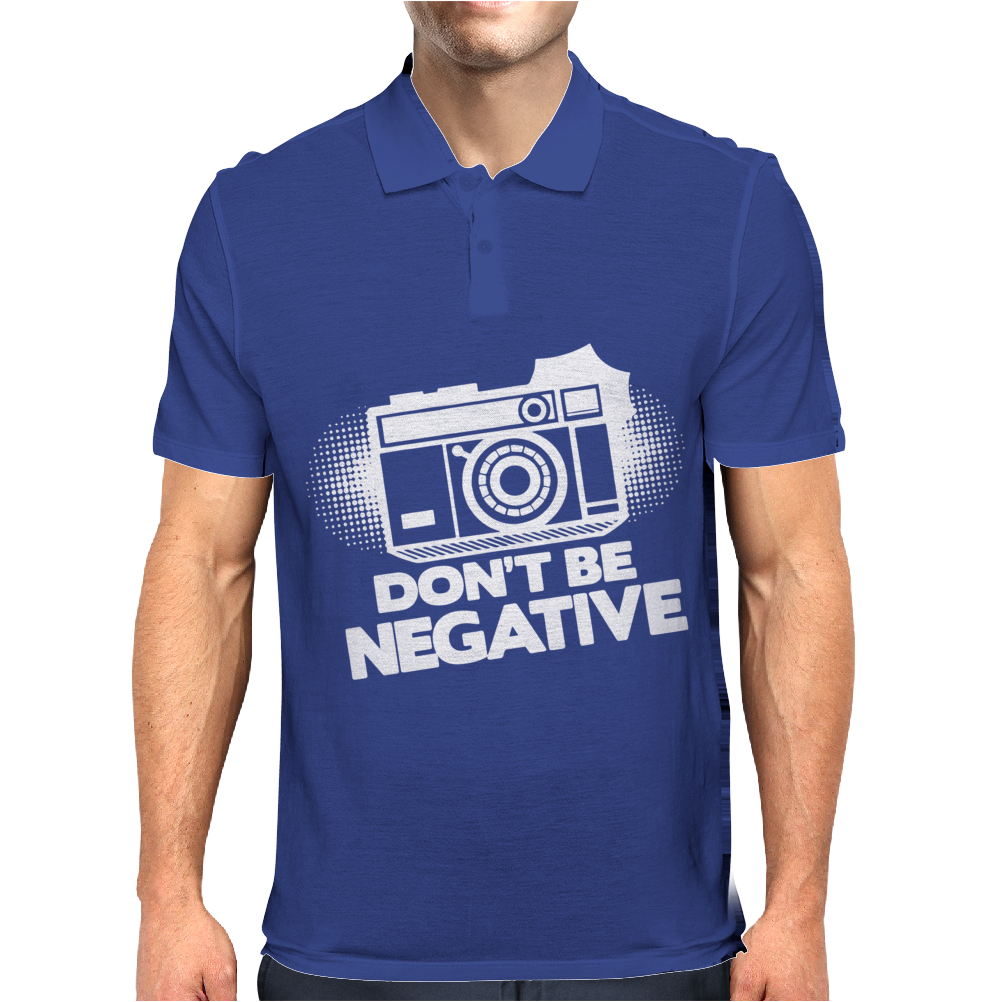 Don't Be Negative Mens Polo