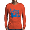 Don't Buck With Texas Funny Mens Long Sleeve T-Shirt