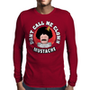 Don't Call Me Clown Mustache (Impractical Jokers) Mens Long Sleeve T-Shirt