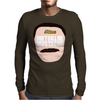 Don't Call Me Mustache Guy's Face Mens Long Sleeve T-Shirt