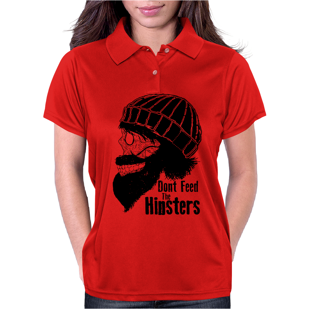 Dont Feed The Hipsters Womens Polo