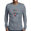 don't forget me Mens Long Sleeve T-Shirt