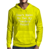 Don't Make Me Use My Teacher Voice Mens Hoodie