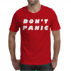 Don't Panic Hitchhikers Guide Tee Mens T-Shirt