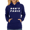 Don't Panic Hitchhikers Guide Tee Womens Hoodie