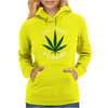 DON'T PANIC IT'S ORGANIC - MARIJUANA Womens Hoodie