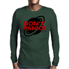 Don't Panic Mens Long Sleeve T-Shirt