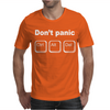 Don't PanicCntrl Alt Del Mens T-Shirt
