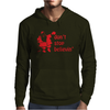 Don't Stop Believin Funny Christmas Mens Hoodie