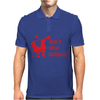 Don't Stop Believin Funny Christmas Mens Polo