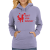 Don't Stop Believin Funny Christmas Womens Hoodie