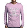 Dont Stop Believing Christmas Mens Long Sleeve T-Shirt