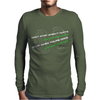 Don't Stop When It Hurts Mens Long Sleeve T-Shirt