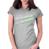 Don't Stop When It Hurts Womens Fitted T-Shirt