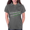 Don't Stop When It Hurts Womens Polo