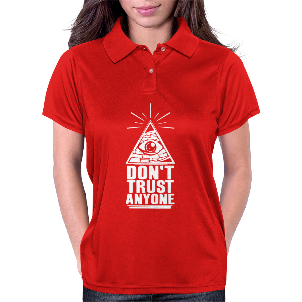 Don't Trust Anyone Womens Polo
