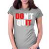 DONT Womens Fitted T-Shirt