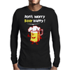 Dont Worry Bear Happy Mens Long Sleeve T-Shirt