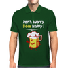 Dont Worry Bear Happy Mens Polo