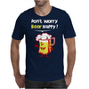 Dont Worry Bear Happy Mens T-Shirt