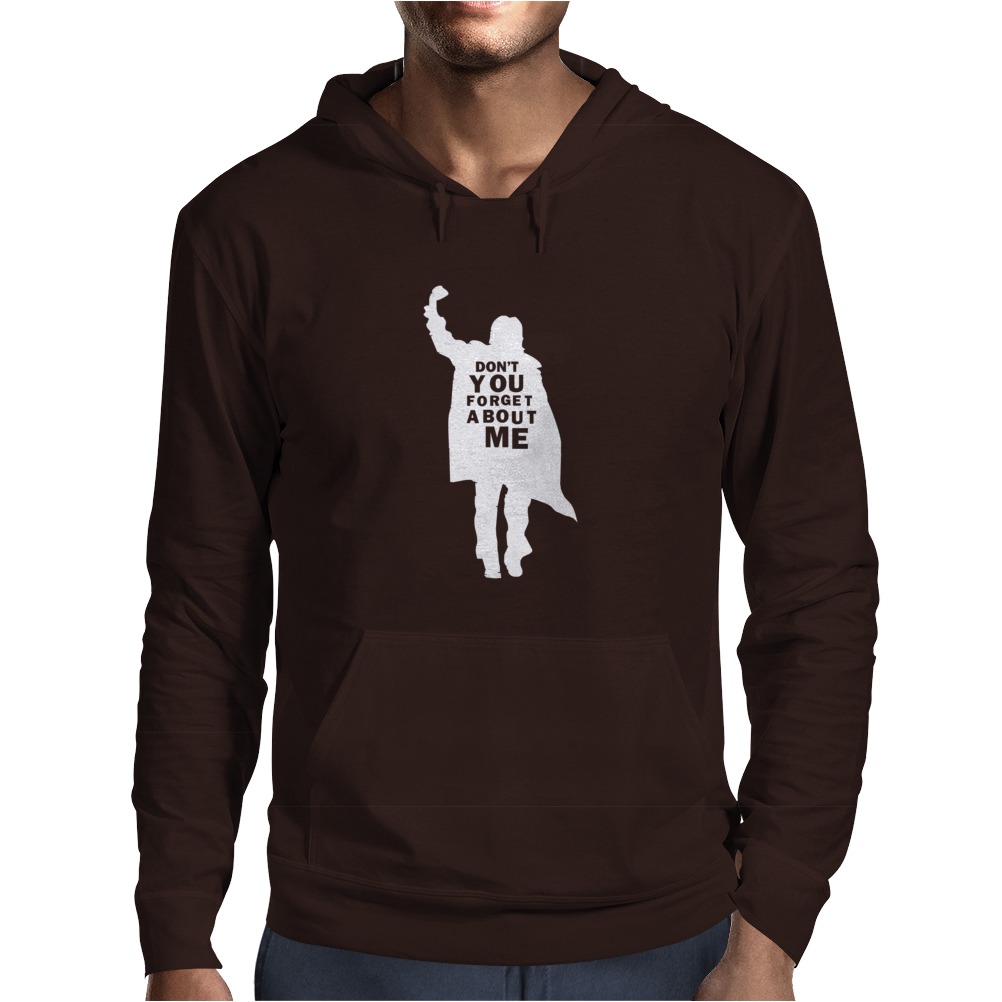 Don't You Forget About Me 80's Party Music Retro Mens Hoodie