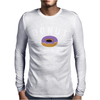 Donut Touch Me Funny Mens Long Sleeve T-Shirt