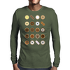 Donuts Mens Long Sleeve T-Shirt