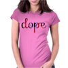 Dope T GALAXY Womens Fitted T-Shirt